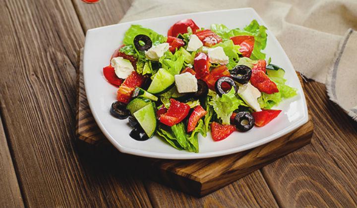 Греческий салат. Классический рецепт простого и вкусного салата с брынзой