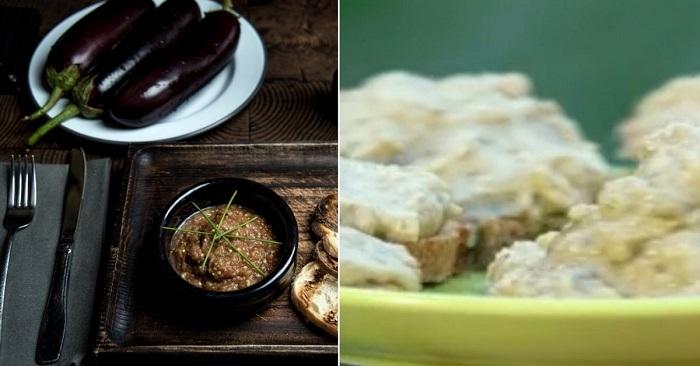 Самая вкусная еврейская закуска — хацилим! Лучшее, что можно сделать из синеньких.