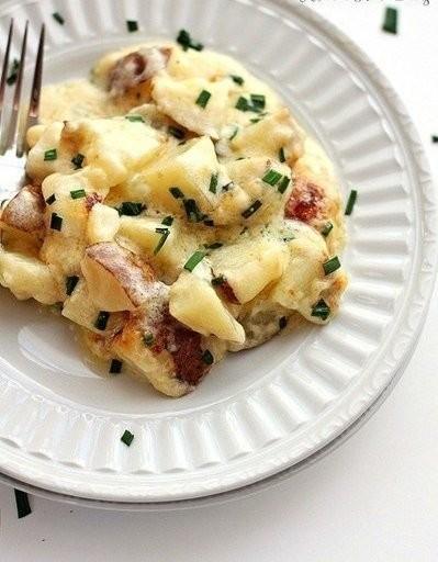 Картофель, запеченный в духовке: ваши гости пальчики оближут