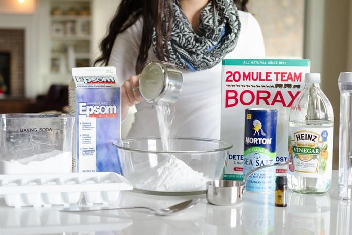 Как сделать «таблетки» для посудомоечной машины и не тратить лишнее.