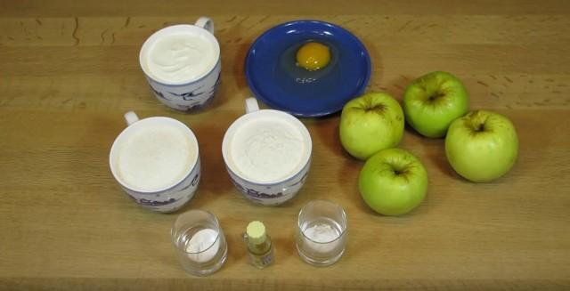 Шарлотка с яблоками в духовке — пошаговые рецепты с фото, простые и вкусные