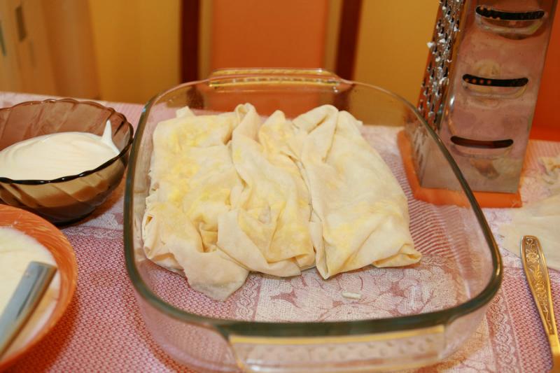 Ленивая баница по-болгарски: готовится быстро, а результат всегда безгранично радует!
