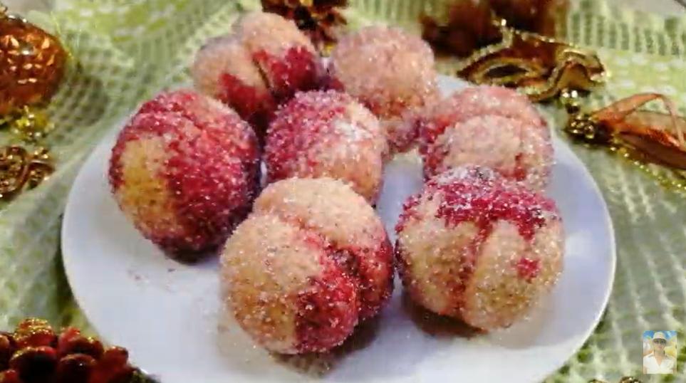 Печенье «Персики». Вспомните вкус детства из каждой столовой!