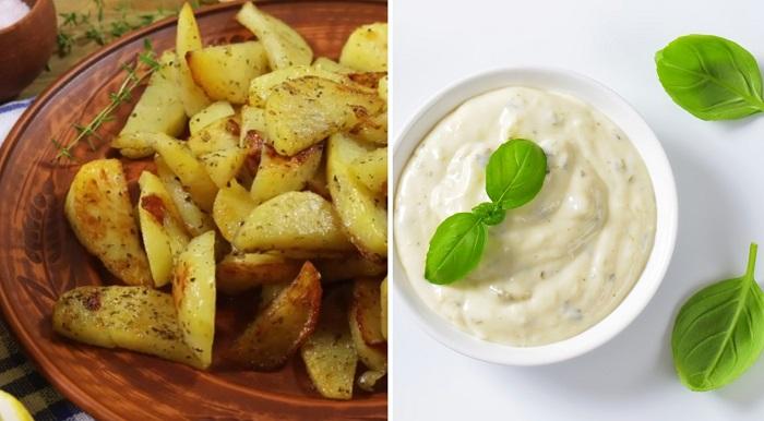 Инструкция по приготовлению запеченного картофеля по-гречески