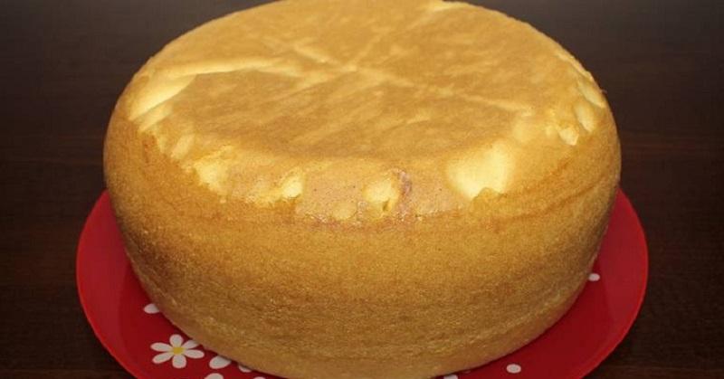 Как приготовить высокий и ровный бисквит без соды и разрыхлителя. Получается в любой духовке!