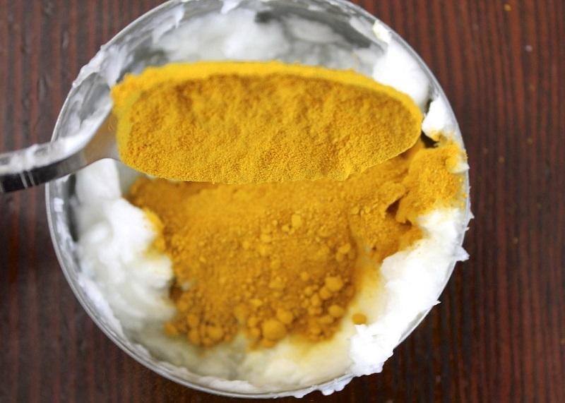 С куркумой можно забыть о восковых полосках и кремах для депиляции: супермаска из 3 ингредиентов. Подходит для любой проблемной зоны.