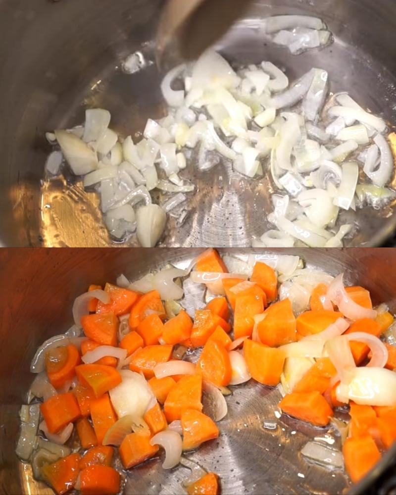 Отменный грибной крем-суп со сливками с ярко выраженным ароматом и нежной текстурой.
