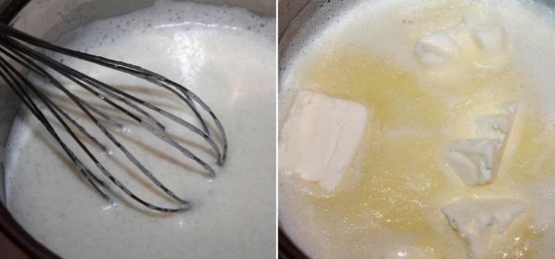 Ванильный заварной крем без муки и крахмала подходит для любой выпечки