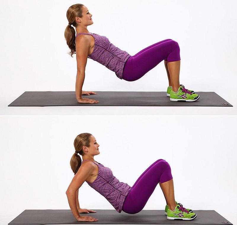 5 упражнений для рельефа и молодости рук. Крылья должны быть невидимыми.
