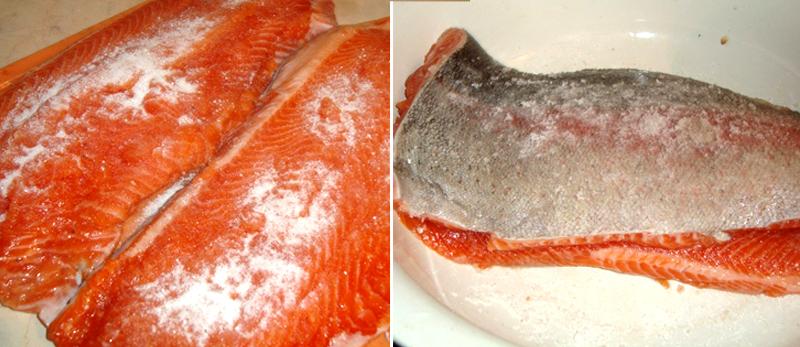 Рецепты засолки красной рыбы