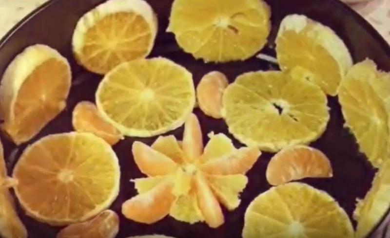 Цитрусовый десерт для праздничного стола: желейный торт «Новый год». Самое желанное лакомство!