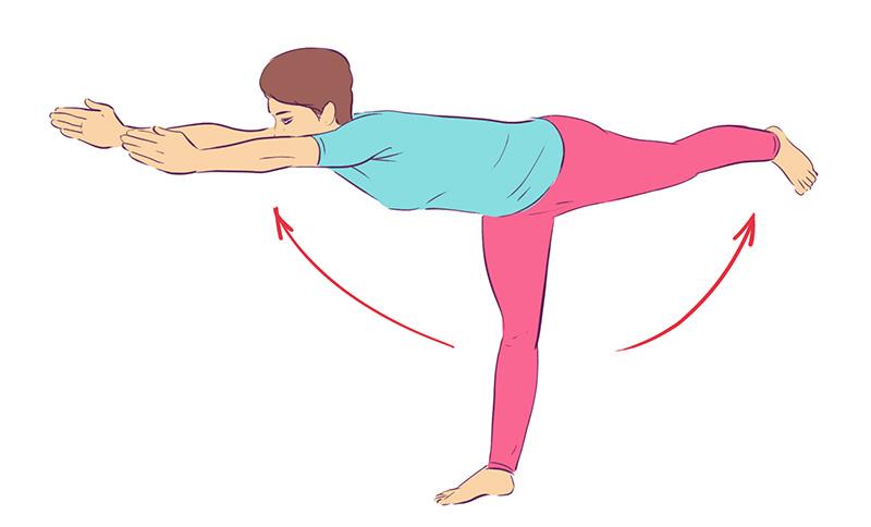 Комплекс «Для ленивых и необъятных». Каждое утро мы с мужем начинаем с этих упражнений. 5 минут каждый день.