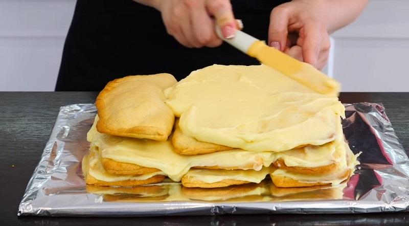 Баварский яблочный торт по рецепту Ольги Матвей: крема и масла много не бывает