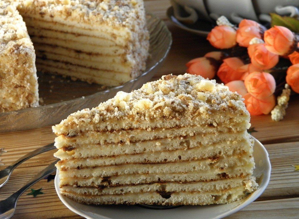 Сметанный торт – 9 рецептов приготовления в домашних условиях
