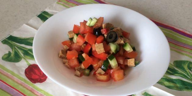 10 постных салатов, которые не оставят вас голодными