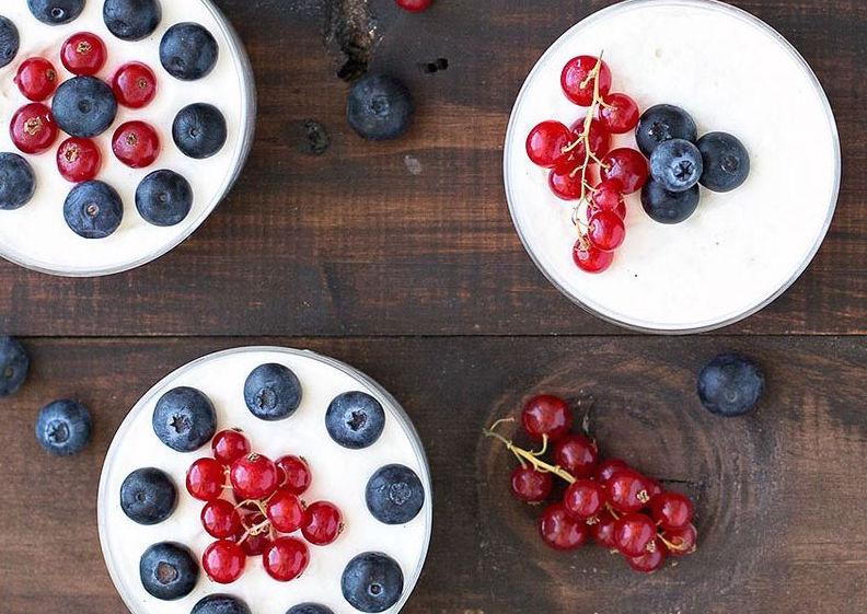 Легкий низкокалорийный творожный десерт