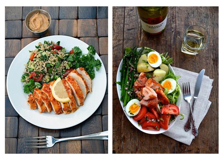 Меню правильного питания на неделю (1400 ккал/день)
