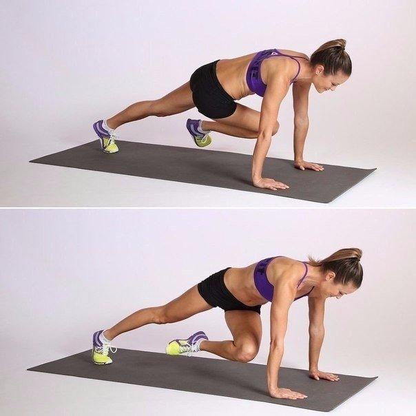 Топ-8 упражнений: убиваем ноги, ягодицы, пресс